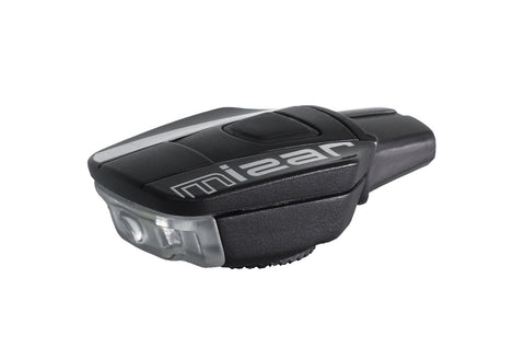 Moon Mizar Front Black USB Rechargeable LED Bicycle Light