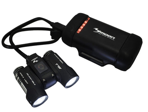 Moon X-Power ADJ1300 High Power Rechargeable Front Bike Light LAA544