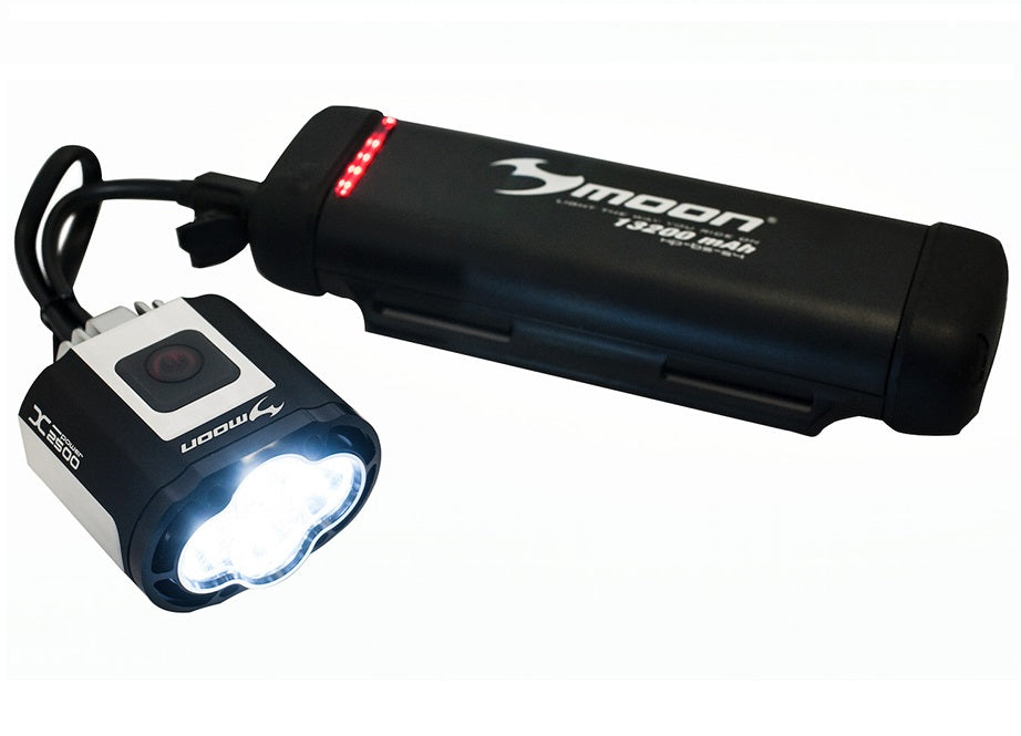 Moon X-Power 1800 High Power Rechargeable Front Bike Light LAA545