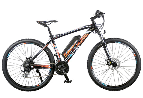 "B Grade Lectro Peak 18"" Gents 36Volt 250w 24 Speed Electric Mountain Bike"