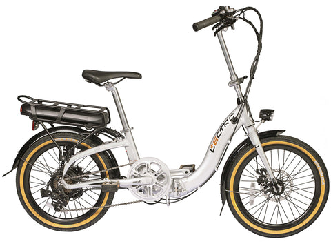 B Grade Lectro Easy Step Folding 36Volt 250w 7 Speed Electric Bike