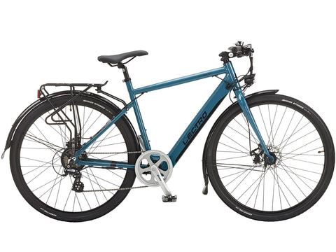 Lectro Townmaster Gents 36V 250W Aluminium Electric Bike Teal