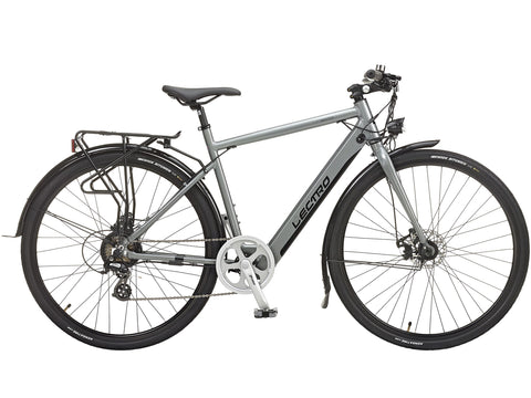 B Grade Lectro Townmaster Gents 36V 250W Aluminium Electric Bike Grey Large