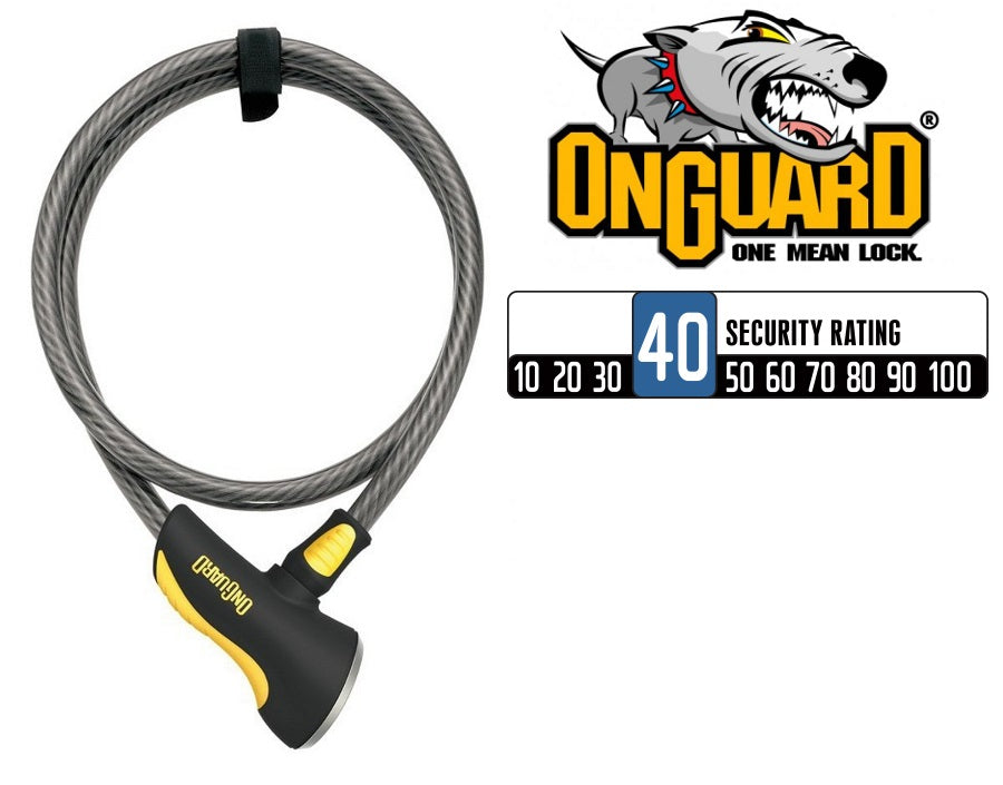 OnGuard Akita 8039 Cable Lock (120cm x 12mm)