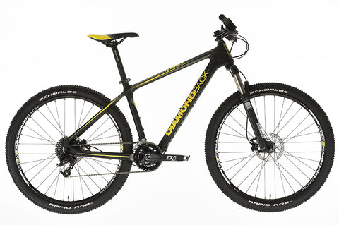 2016 Diamondback Lumis 1.0 Hard Tail Carbon Mountain Bike