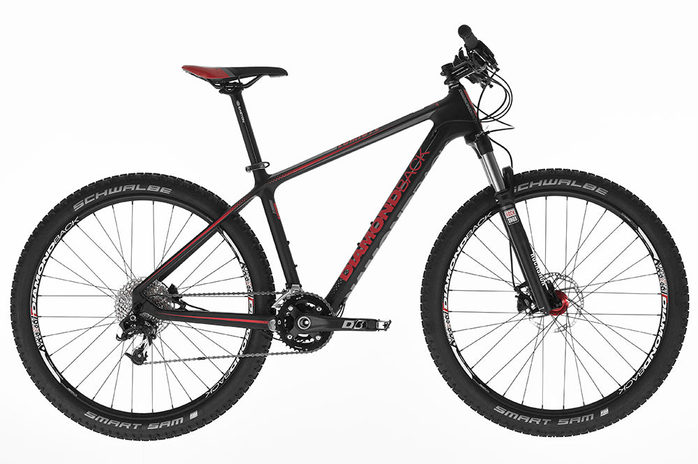 2016 Diamondback Lumis 2.0 Hard Tail Carbon Mountain Bike