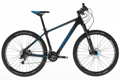 "B Grade 2016 Diamondback Lumis 3.0 Hard Tail Carbon 17"" Mountain Bike"