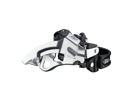 Shimano Deore 10 Speed Top Swing Front Derailleur Dual Pull