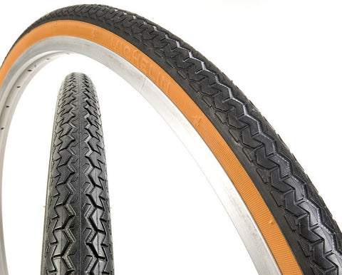 "26"" x 1 3/8"" Michelin World Tour Roadster Tyre Gum Wall"