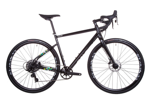 Raleigh Mustang Comp Adventure Gravel Road Bike 1X11 Black