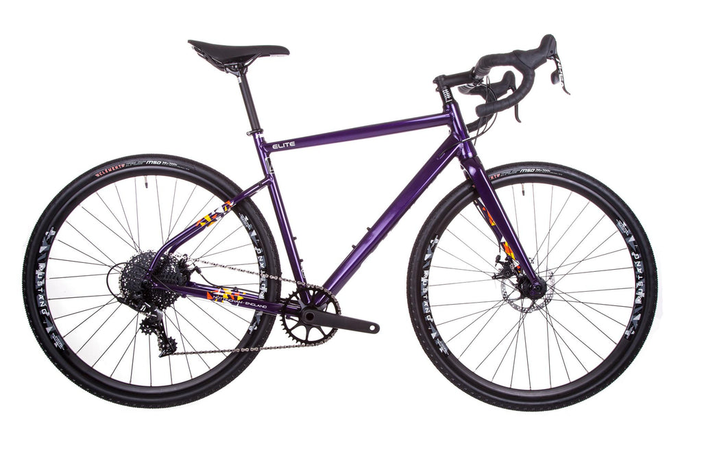 Raleigh Mustang Elite Adventure Gravel Road Bike 1X11 Purple