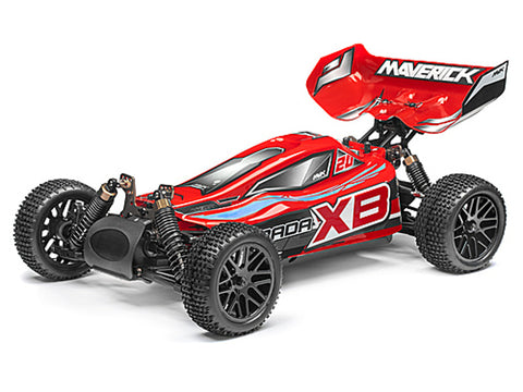 Maverick Strada Red XB Radio Controlled 1/10 RTR Brushless Electric Buggy
