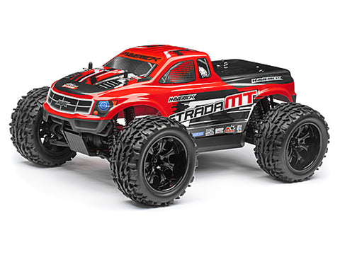 Maverick Strada Red MT Radio Controlled 1/10 RTR Brushless Electric Monster Truck