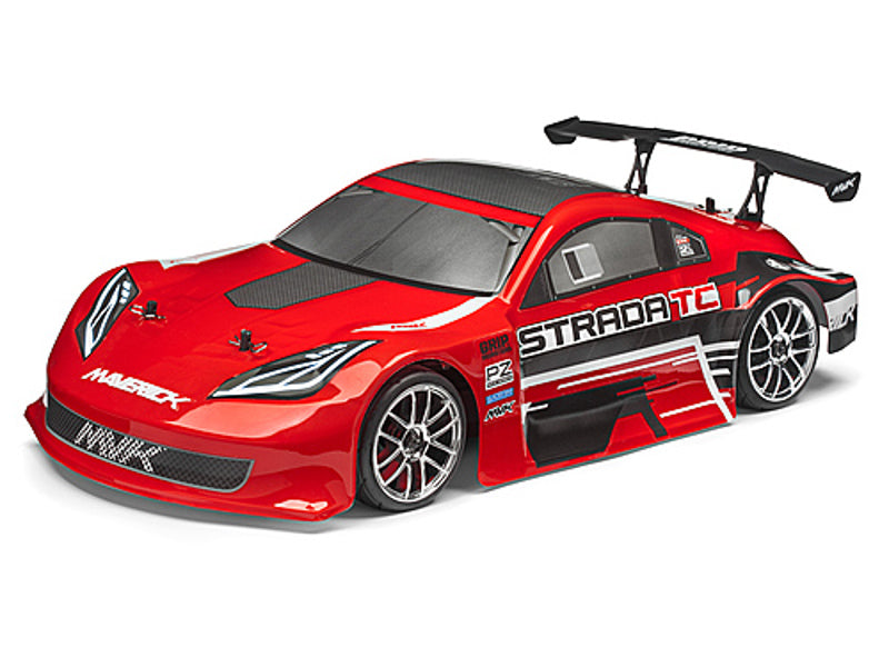 Maverick Strada Red TC Radio Controlled 1/10 RTR Brushless Electric Touring Car
