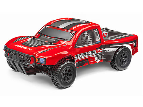 Maverick Strada Red SC Radio Controlled 1/10 RTR Brushless Electric Short Course