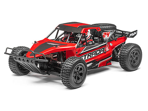 Maverick Strada Red DT Radio Controlled 1/10 RTR Brushless Electric Desert Truck