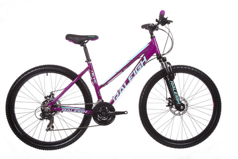 "B Grade 2018 Raleigh Neve 2.0 Hardtail 20"" Womens Mountain Bike Purple"