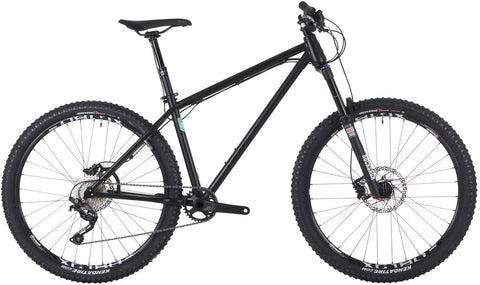 Ex Demo Onza Jackpot 650b Wheel Matte Black Hardtail Mountain Bike 19""