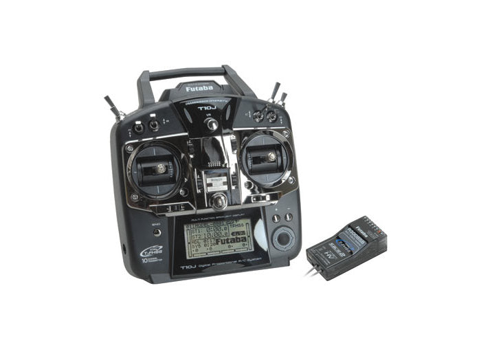 Futaba 10J 2.4Ghz Transmitter with R3008SB Receiver (Mode 2)