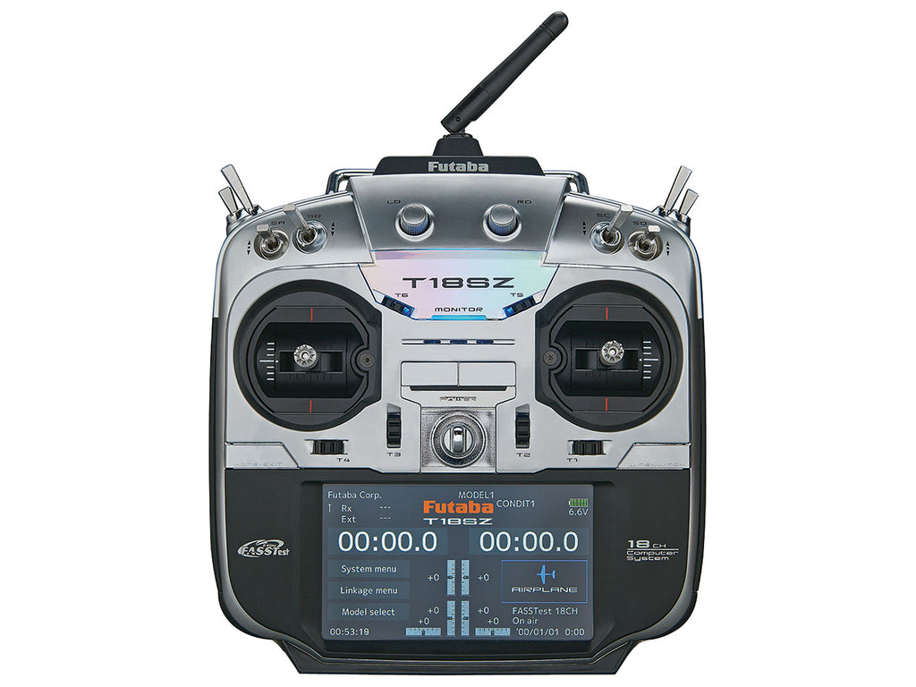 Futaba 18SZ 2.4Ghz Transmitter with R7008SB Receiver (Mode 2)