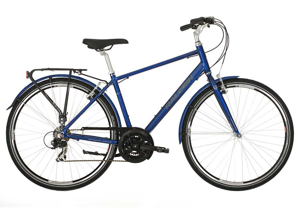 Raleigh Pioneer 1 Gents Aluminium Hybrid Bike Blue