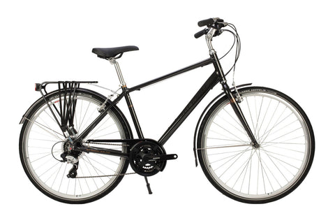 Raleigh Pioneer Grand Tour Mens 700C 24SPD Bicycle Gunmetal