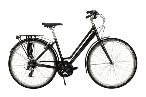 Raleigh Pioneer Grand Tour Womens 700C 24SPD Bicycle Gunmetal
