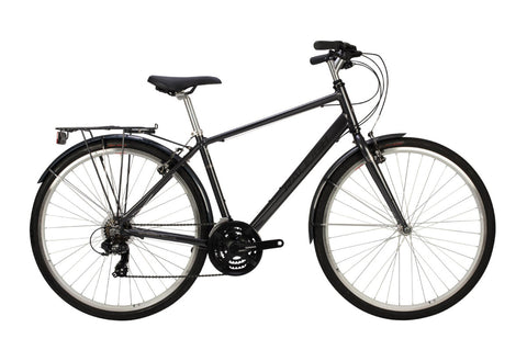 Raleigh Pioneer Mens 700C 21SPD Bicycle Graphite
