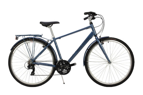 Raleigh Pioneer Mens 700C 21SPD Bicycle Blue