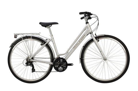 Raleigh Pioneer Womens 700C 21SPD Bicycle Silver