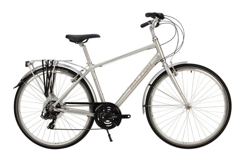"B Grade Raleigh Pioneer Tour 19"" Mens 700C 21SPD Bicycle Silver"