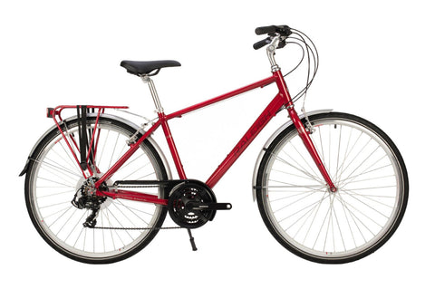 Raleigh Pioneer Tour Mens 700C 21SPD Bicycle Red