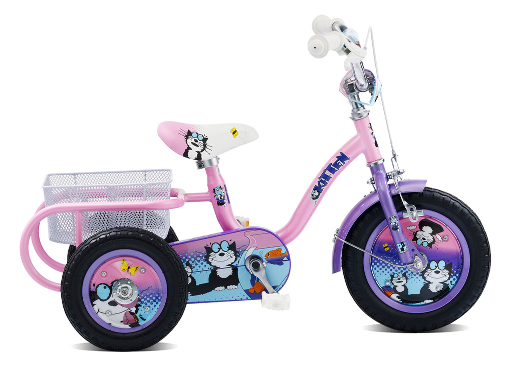 "B Grade Pedal Pals Kitten 12"" Wheel Girls Tricycle"