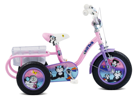 "Pedal Pals Kitten 12"" Wheel Girls Tricycle"