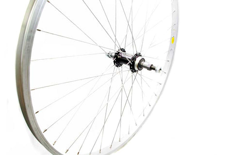 "20"" Bicycle Rear Wheel Alloy Weinmann Rim Nutted 10mm 5/6/7 speed"