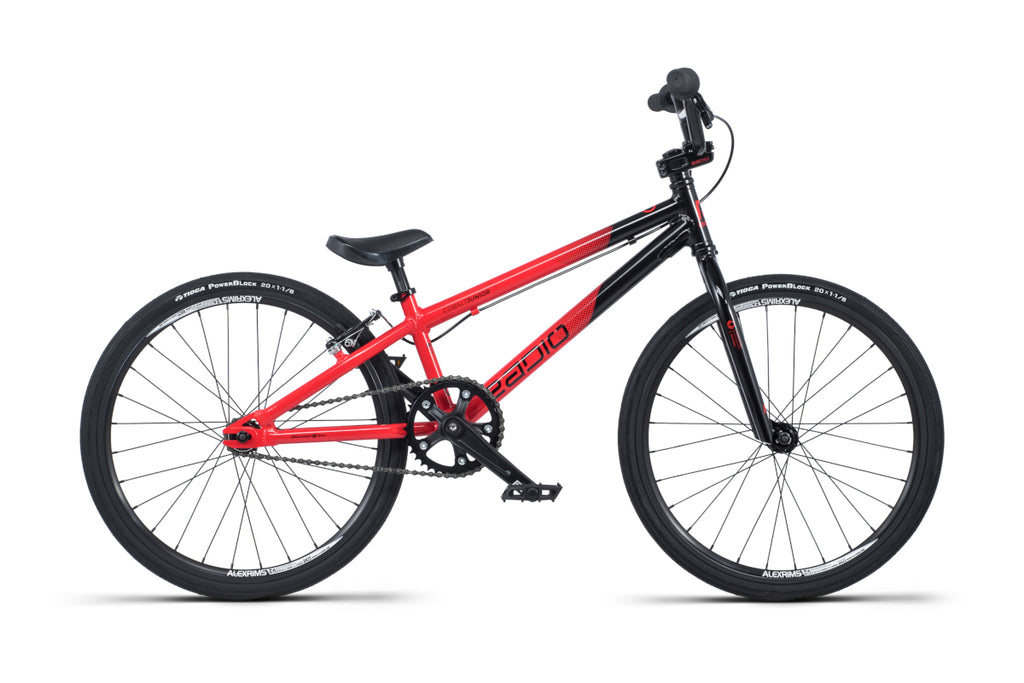 "Radio Cobalt Junior 20"" BMX Black/Red"