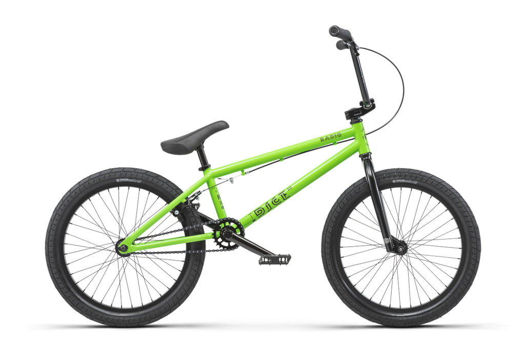 "Radio Dice 20"" BMX Neon Green"