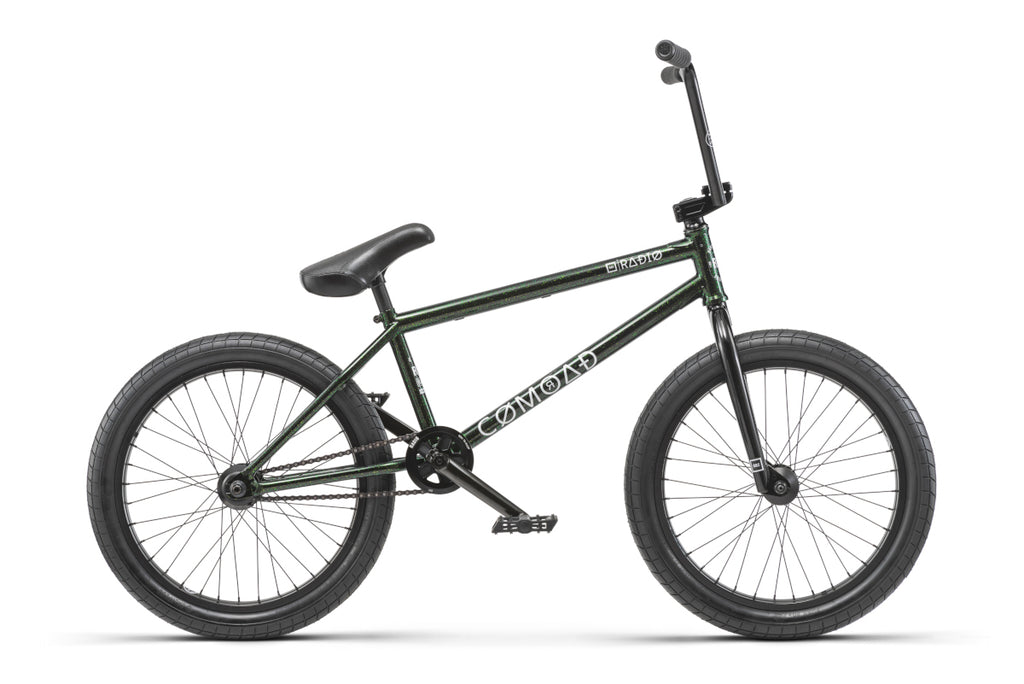 "Radio Comrad 20"" BMX Black/Green Flake"