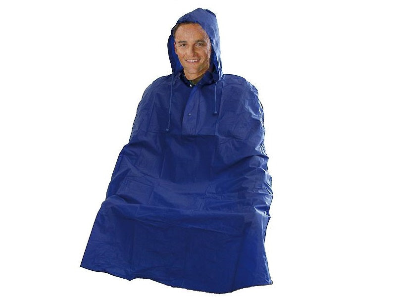 Coyote Blue Cycling Rain Cape Poncho