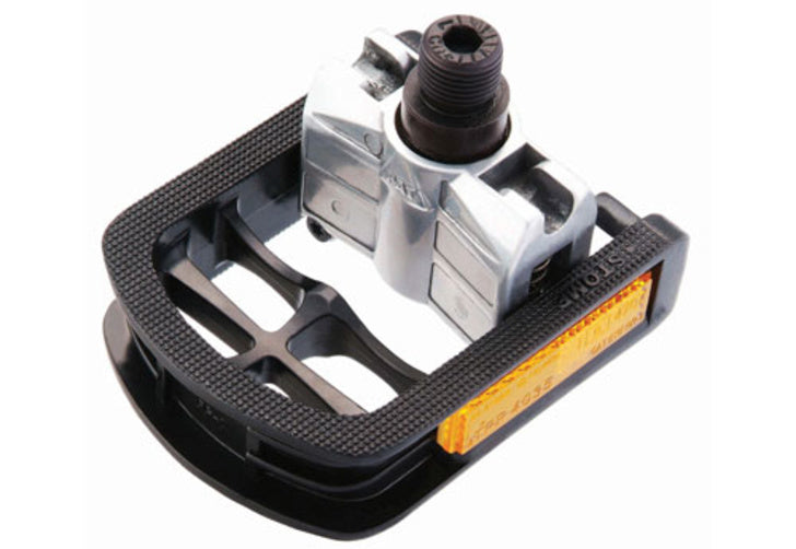 "Raleigh 9/16"" Folding Alloy Black Pedals"