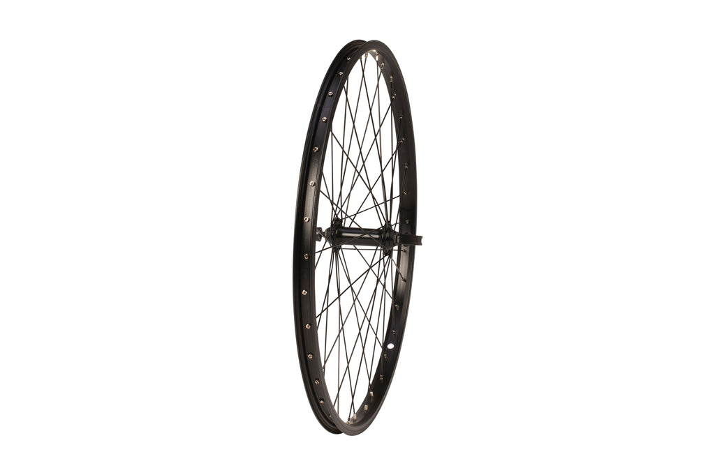 "Tru-build Wheels 24 x 1.75"" Junior quick release front wheel"
