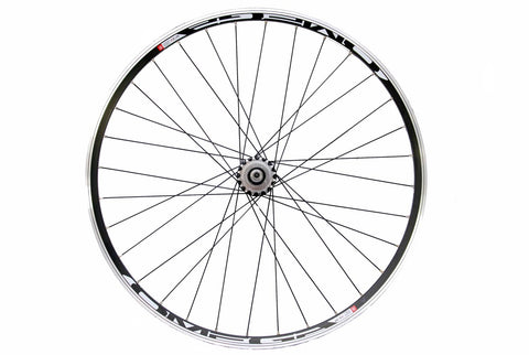 700c Rear Single Speed Fixie Flip Flop Wheel Black