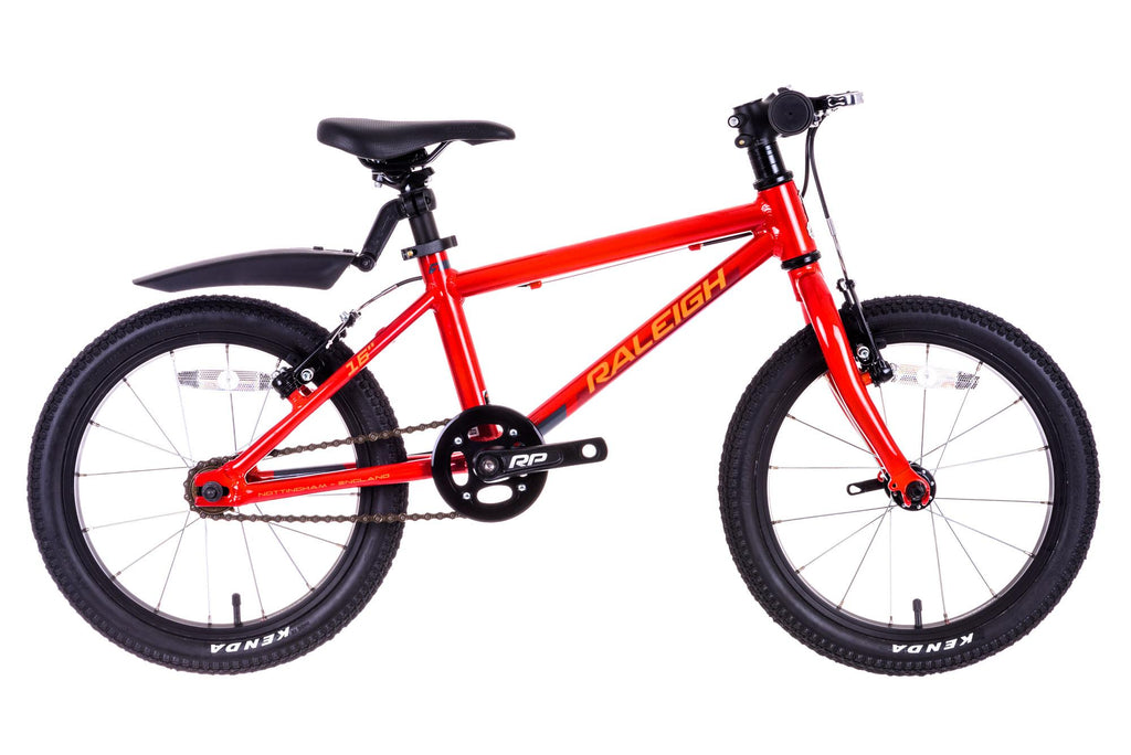 "Raleigh Performance 16 Mountain Bike 16"" Wheel Boys Orange"