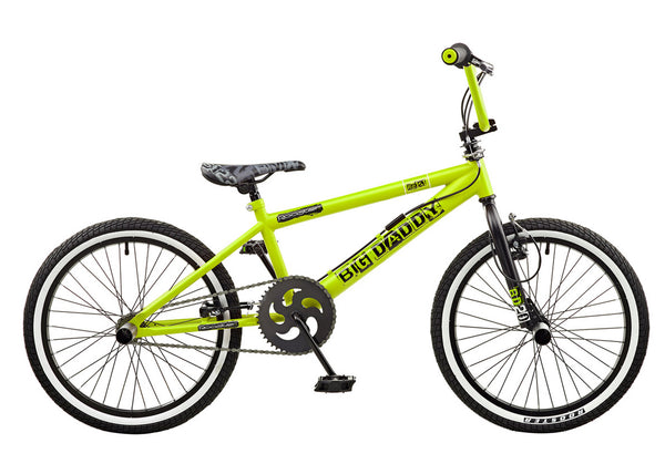 Rooster Big Daddy 20 BMX Green/Black with Spoke Wheels ...