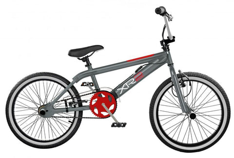 "2019 Rooster XR2 11"" Frame 20"" Wheel Boys Freestyler BMX Bike Grey/Red"