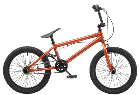 "Rooster Core 9.25"" Frame 18"" Wheel Boys BMX Bike Matt Copper"