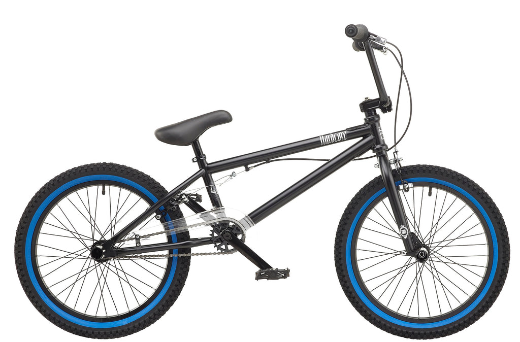 "Rooster Hardcore 9.75"" Frame 20"" Wheel Boys BMX Bike Matte Black"