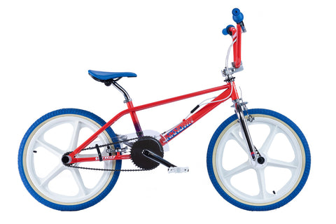 "Rooster Unknown Mag 9.75"" Frame 20"" Wheel Boys BMX Bike Red"