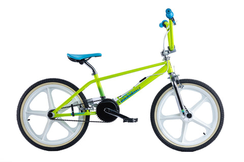 "Rooster Unknown Mag 20"" Wheel Boys BMX Bike Green"