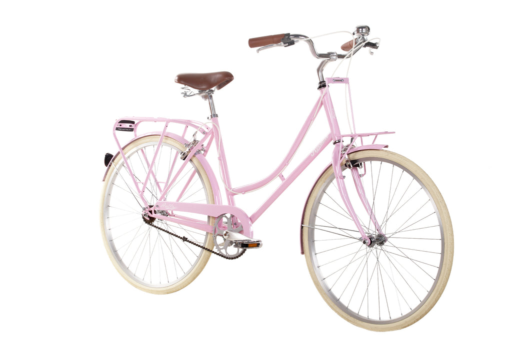 "B Grade Ryedale Holly Ladies 26"" Wheel Candyfloss Single Speed Traditional Bike 17"""